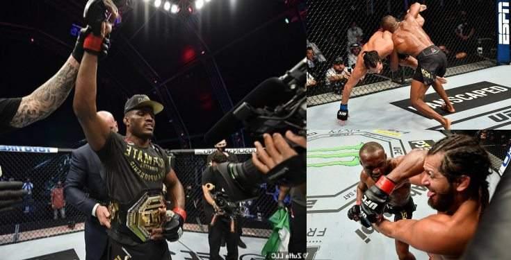 Kamaru Usman Retains His UFC Welterweight Championship