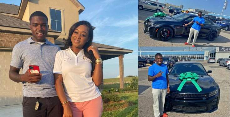 Lady Buys Her Husband An Expensive Car