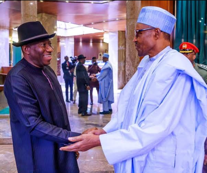 Buhari Names Railway Station After Goodluck Jonathan