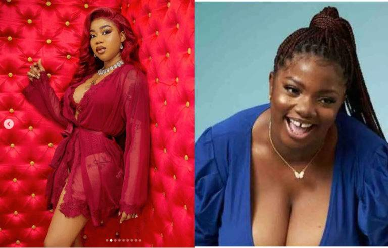 """""""The real runs girl is in the house"""" - Toyin Lawani reacts to photo claiming Dorathy is a popular runs girl"""