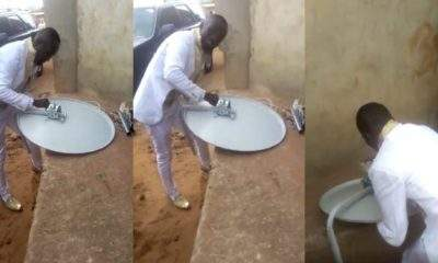 Groom Keeps Bride Waiting In Church And Goes To Fix DStv For Customer Video