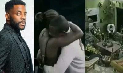 Watch BBNaija host, Ebuka being evicted from the first edition of the show