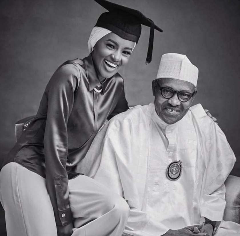 President Buhari's Daughter, Hanan Set To Wed Fiance (Photos)