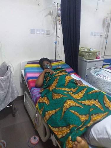 41-year-old woman welcomes quadruplets after 5 years of marriage, unable to pay ₦700k hospital bill (Photos)
