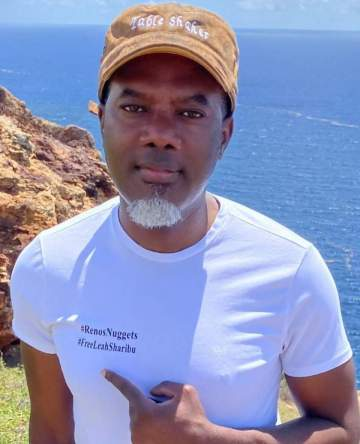 """""""My wife is my baby, 10 of you can't come close to her"""" - Reno Omokri slams lady who called him 'baby'"""