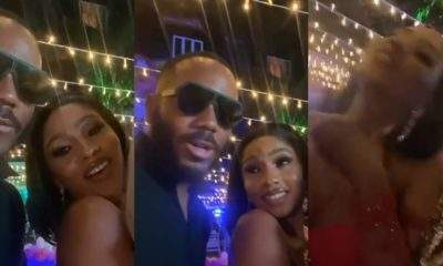 """Kill me, choke me"" - Mercy Eke tells Kiddwaya during her birthday party (Video)"