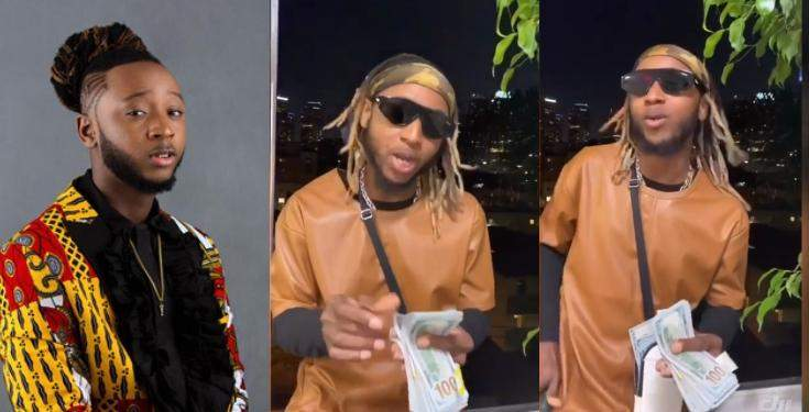 Rapper Yung6ix laments bitterly after spending N500k to buy hair for his babymama