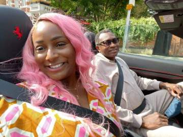Hard work got me where I am today, not my dad - DJ Cuppy