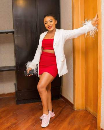 Ifu Ennada calls down thunder and death on follower who insinuated that she's bleaching her skin