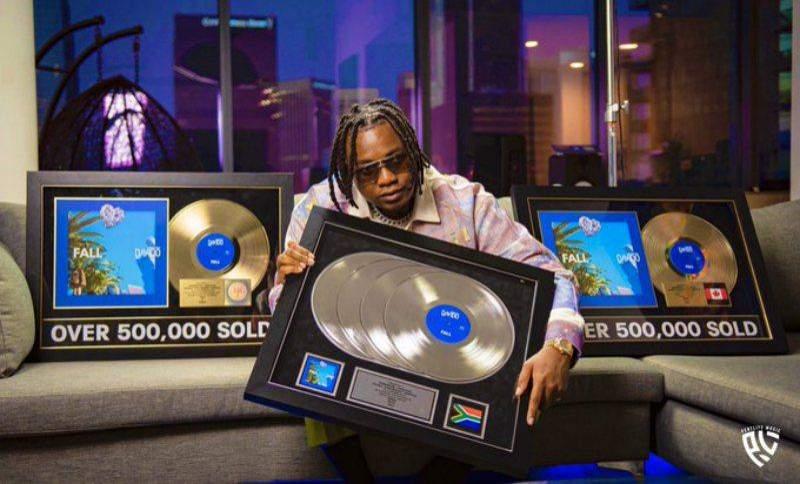 Kiddominant RIAA gold certification