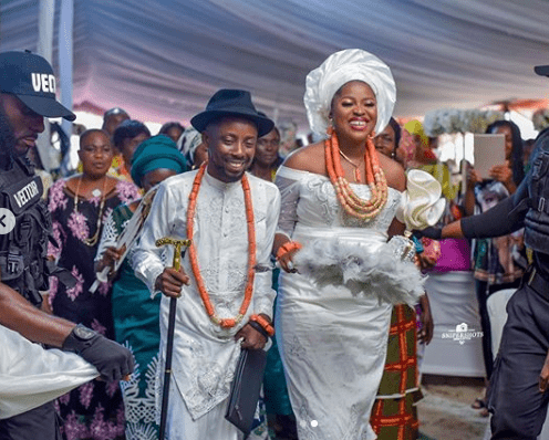Rapper Erigga Ties The Knot With Nikki in Delta State
