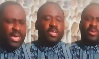 Desmond Elliot breaks down in tears following backlash from Nigerians (Video)