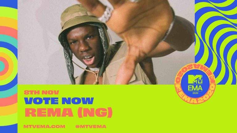 """2020 MTV EMA:- Burna Boy, Rema, Nominated for """"Best African Act"""" Award"""