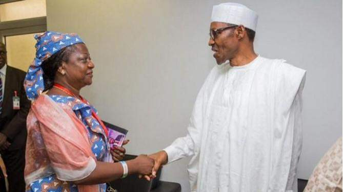 "Tweet of Lauretta Onochie calling President Buhari ""old man"" Surfaces"
