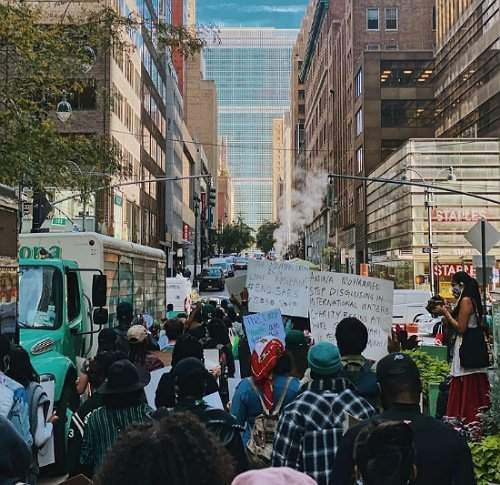 #EndSARS Protest In New York