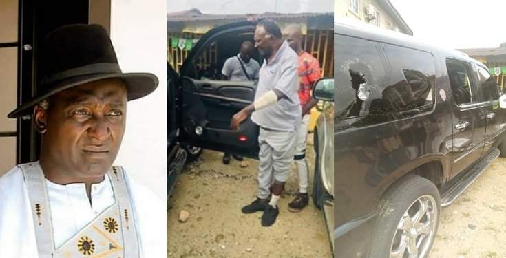 Actor, Clem Ohameze Allegedly Attacked By Hoodlums In Akwa Ibom (Photos)