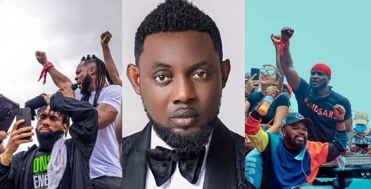 Comedian AY blasts those asking why no celebrity died during #EndSARS protests