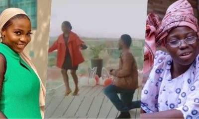 Moment Taaooma's boyfriend proposed to her in Namibia (Video)
