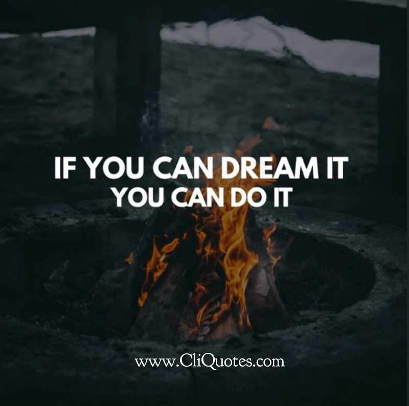 motivational speech, if you can dream it, you can do it
