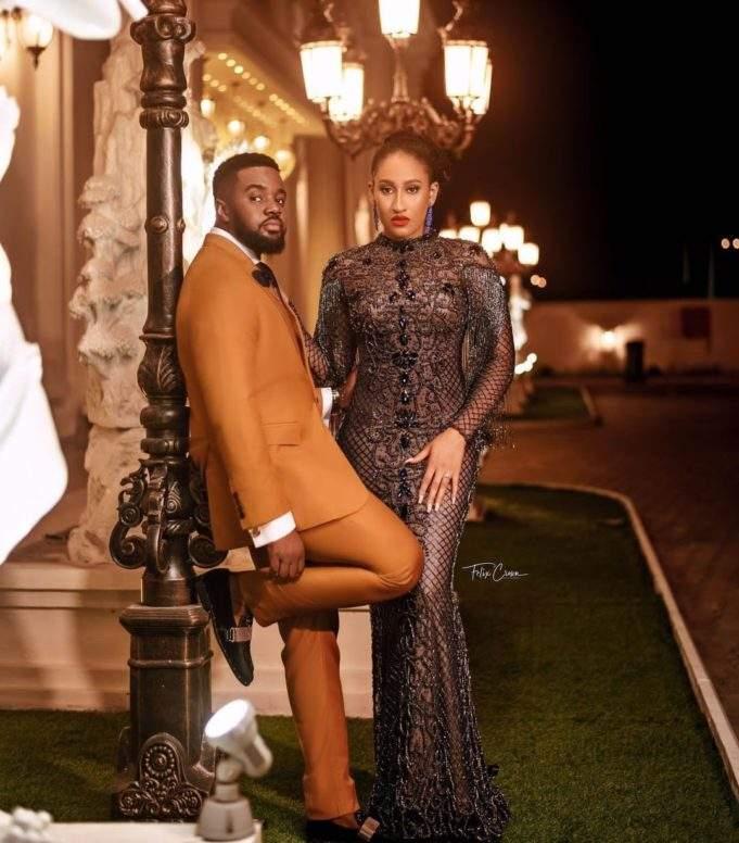 Williams Uchemba Shares Stunning Pre-Wedding Photos With Fiancee, Brunella, Ahead Of Their Wedding Next Week