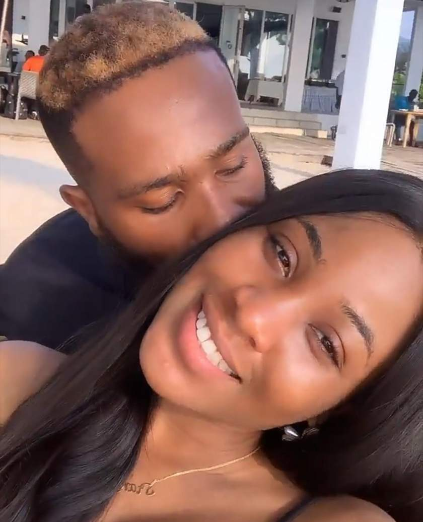 Erica and her boo, Kiddwaya serve couple goals in new video