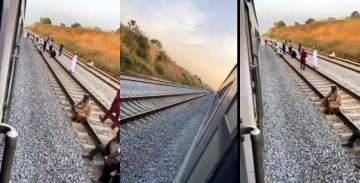 Passengers stranded as Abuja-Kaduna train breaks down in the middle of nowhere (Video)