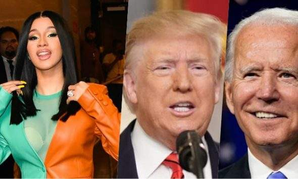 Cardi B explains why Donald Trump lost in the Presidential Election