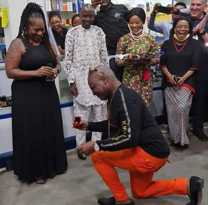 Charly Boy Proposes To His Wife For The 4th Time After 45 Years Of Marriage (Photos/Videos)