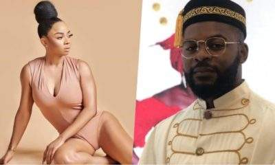 """""""Falz let's marry"""" - Toke Makinwa reacts after a 'find a man' conversation with nephew"""