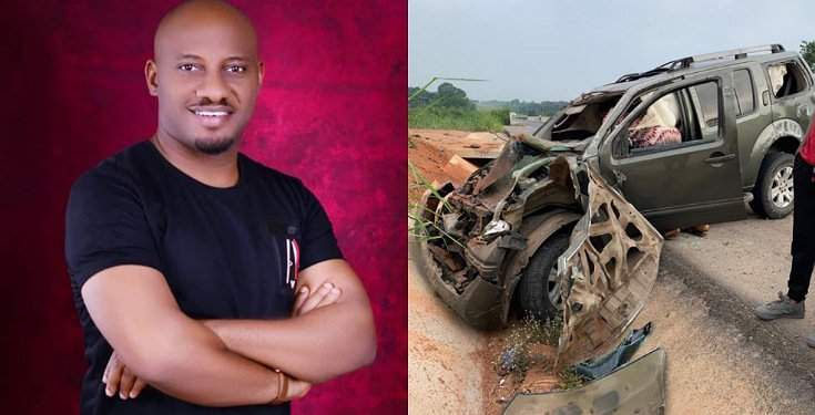 """I actually died in this accident but God gave me a 2nd life"" - Actor, Yul Edochie recounts incident that changed his life"
