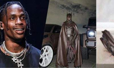 Halloween: Travis Scott deletes IG account after being compared with 'flying cockroach'