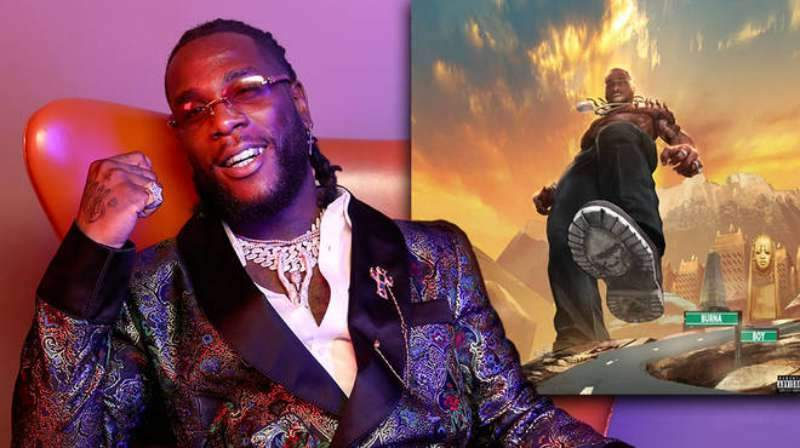 How Burna Boy Reacted To His Second Grammy Nomination