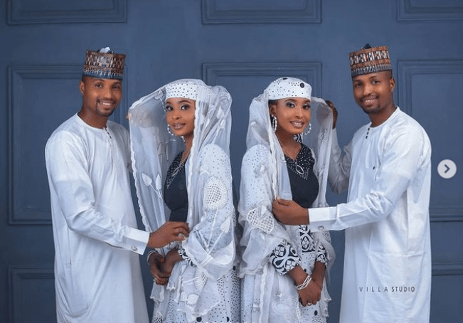 Identical twin brothers set to wed identical twin sisters in Kano (Photos)