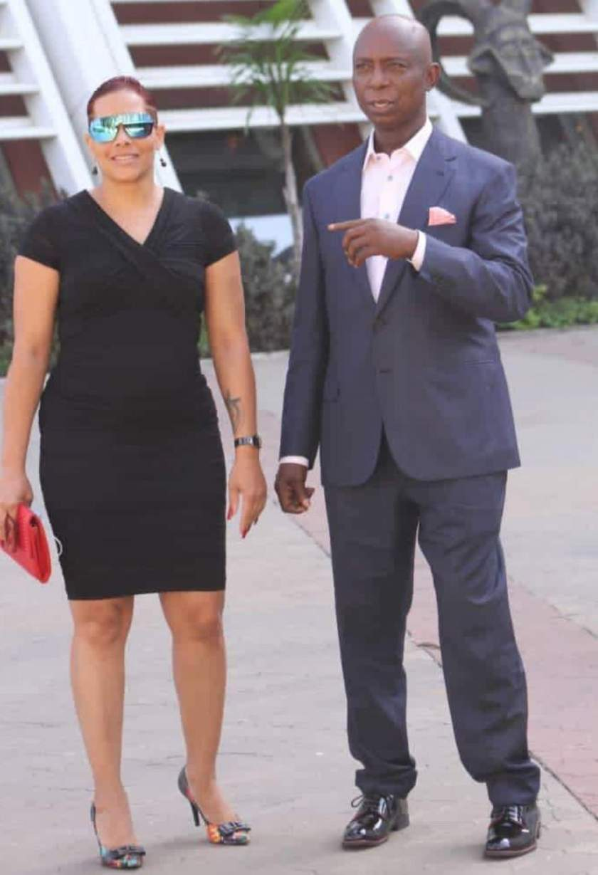 Why Ned Nwoko's alleged Zambian mistress dragged him and deleted all his photos
