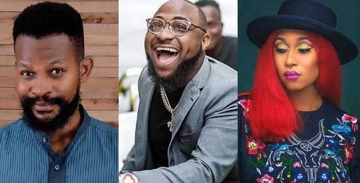 """Davido no be God"" - Uche Maduagwu consoles Cynthia Morgan"
