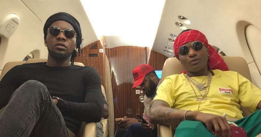 """Abeg, you gats perform 'Abule' for my wedding"" - Wizkid begs Patoranking (Video)"