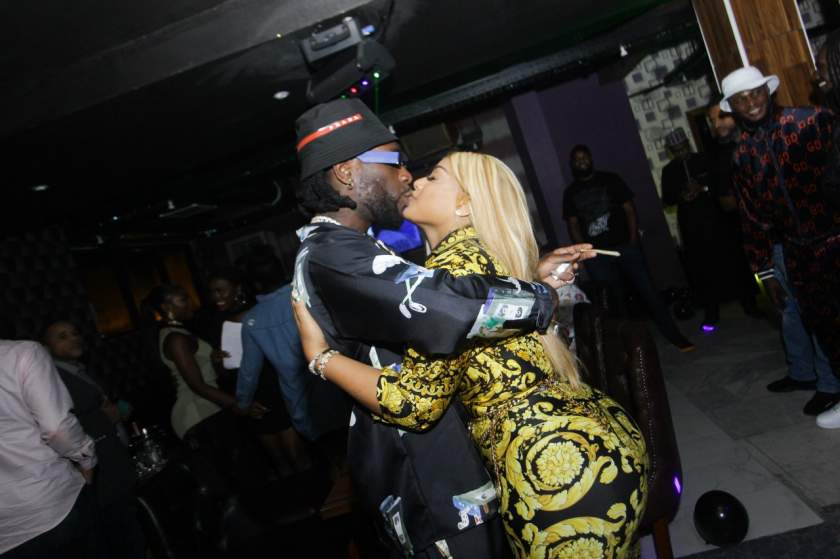 "Stefflon Don reacts to allegation that Burna Boy is cheating on her with a ""bootylicious"" side chic"