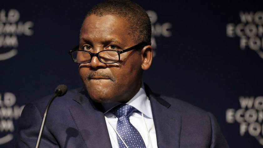 Dangote Lost Over N343 Billion In 24 hours, Becomes 114th Richest Man On Earth
