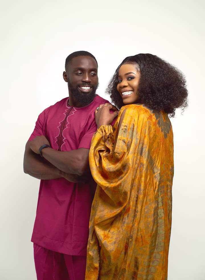 Shola Ogudu shows off her man