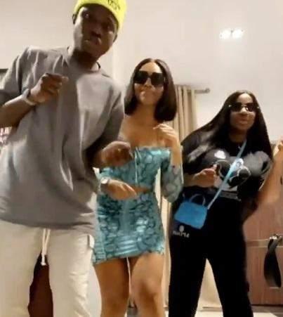 Singer Zlatan Ibile, Dorathy, Lilo show off dance moves during hangout (Video)