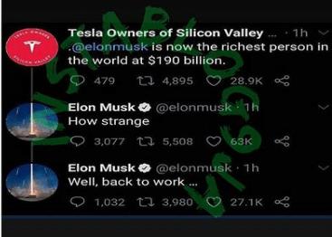 Shade Tacha Elon Musk