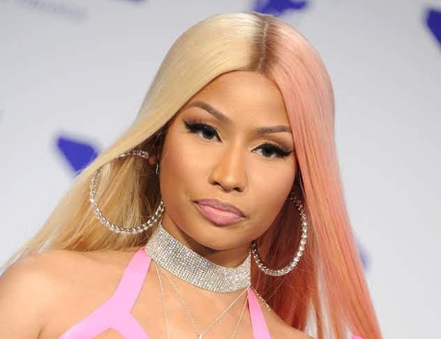 Nicki Minaj followed Tacha