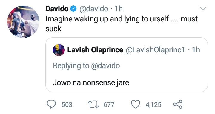 Davido jowo nonsense