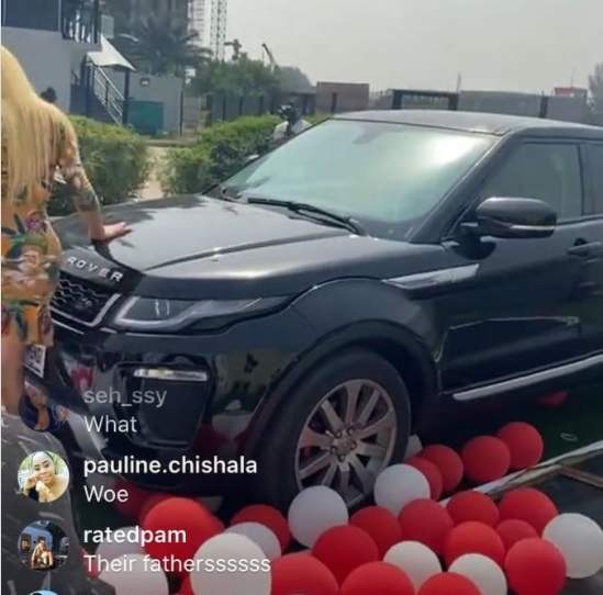 Fans gift Nengi a brand new Range Rover SUV on her birthday