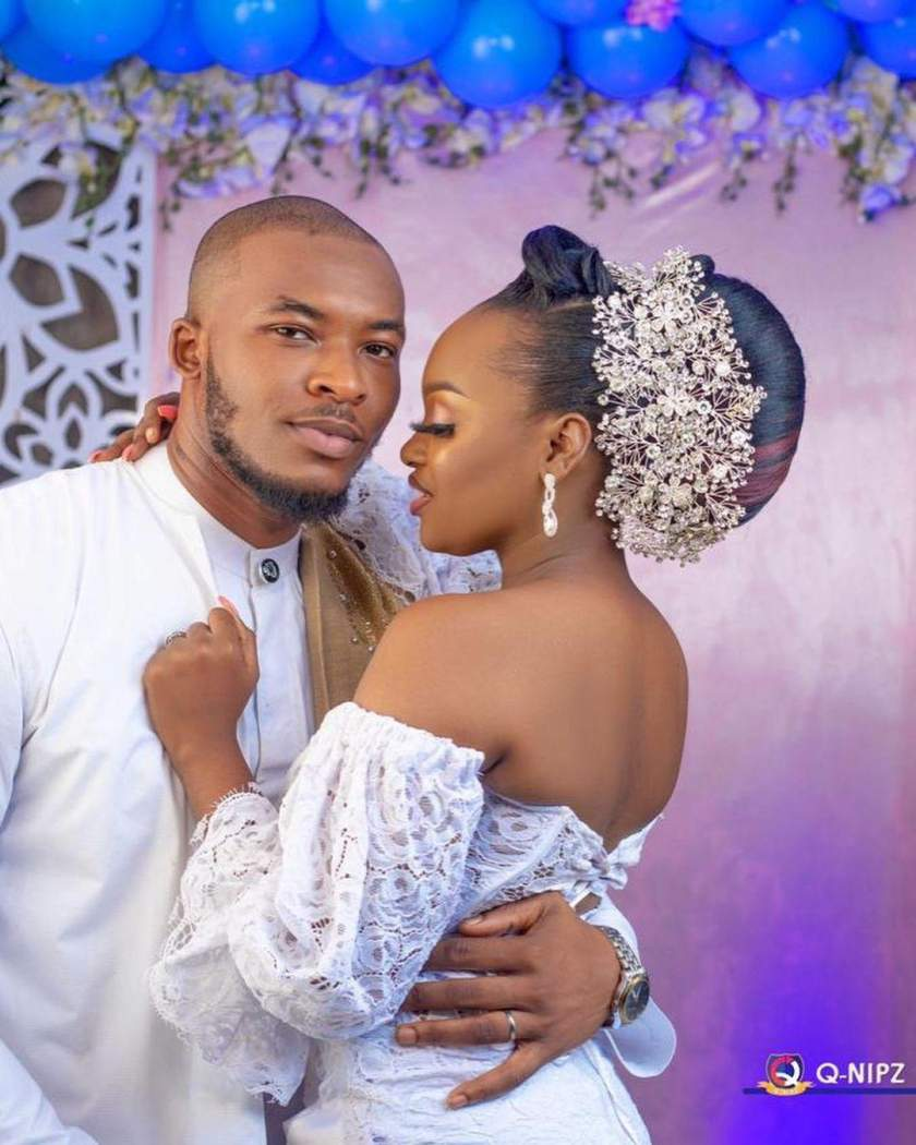 Happy married life - BBN star, Tochi congratulates Eric after his cute photos surfaced online