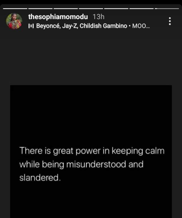 Sophia Momodu reacts to reports of Chioma fighting with Davido for visiting her house to see Imade