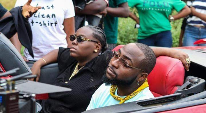 """By fire by force, you must be on my album"" - Watch moment Teni chased after Davido to beg for a collaboration (Video)"