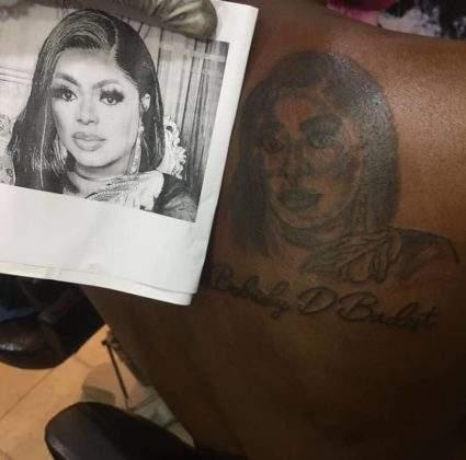 Tattoo Of Bobrisky