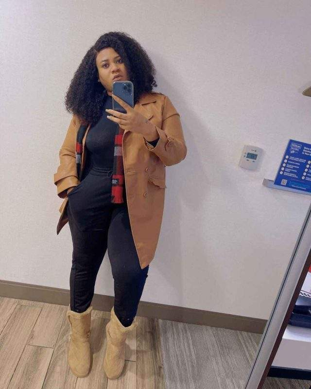 """Kobo, you won't get"" - Nkechi Blessing reacts as fan inks tattoo of her name"