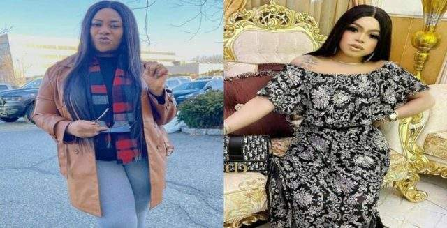 Mompha reacts to the 'dirty fight' between his two friends, Bobrisky and Nkechi Blessing